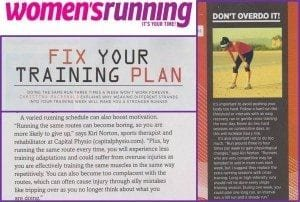 Womens Running - Bodyset