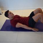 Core Exercise - Supine Heel Taps - Part 1