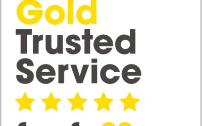 Capital Physio Awarded Feefo Gold Trusted Service Award 2018