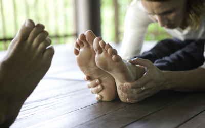 I've been told I have flat feet – what does that mean?
