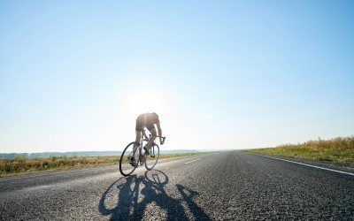 Cycling injuries: Poor posture and related back pain