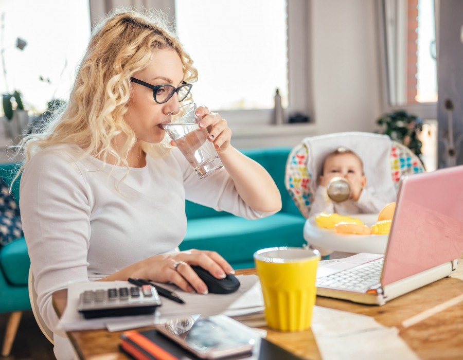 Coping with stress when working from home