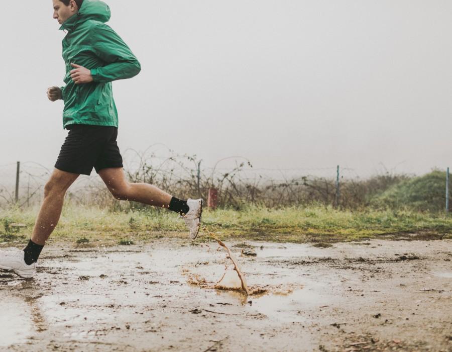 How to run in the rain