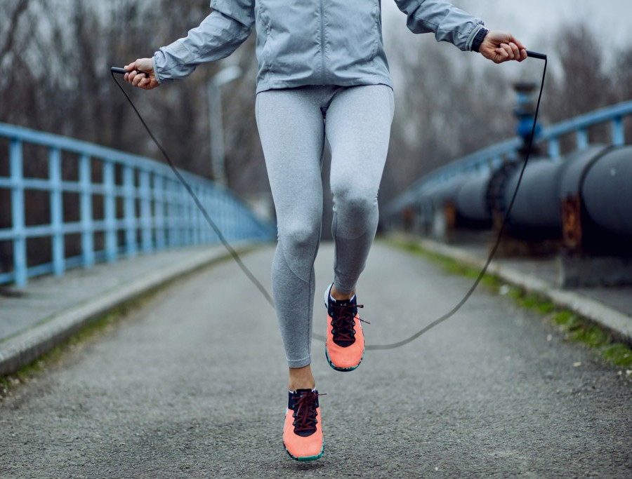 Skipping: How to avoid injury and shin splints